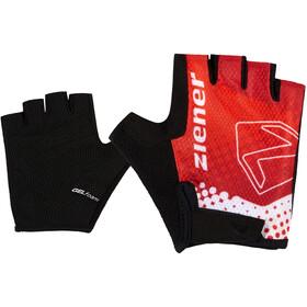 Ziener Curto Bike Gloves Kids, czerwony